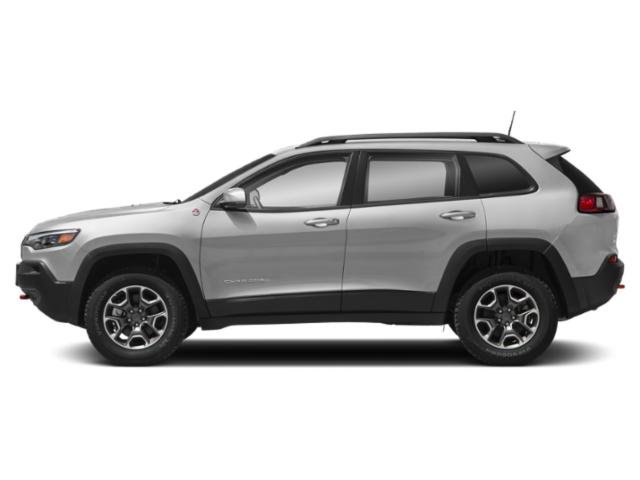 Sting-Gray Clearcoat 2019 Jeep Cherokee Pictures Cherokee Trailhawk Elite 4x4 photos side view