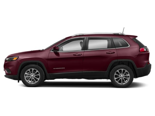 Velvet Red Pearlcoat 2019 Jeep Cherokee Pictures Cherokee Latitude FWD photos side view