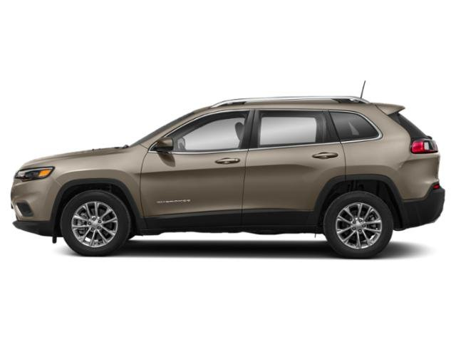 Light Brownstone Pearlcoat 2019 Jeep Cherokee Pictures Cherokee Limited FWD photos side view