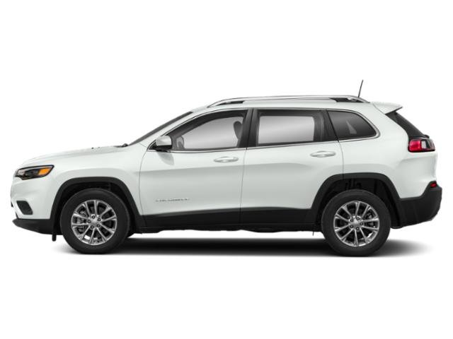 Bright White Clearcoat 2019 Jeep Cherokee Pictures Cherokee Limited FWD photos side view