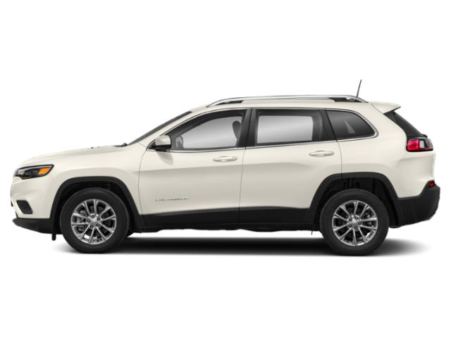 Pearl White Pearlcoat 2019 Jeep Cherokee Pictures Cherokee Overland 4x4 photos side view