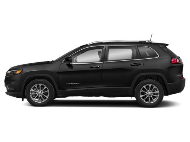 Diamond Black Crystal Pearlcoat 2019 Jeep Cherokee Pictures Cherokee Latitude FWD photos side view