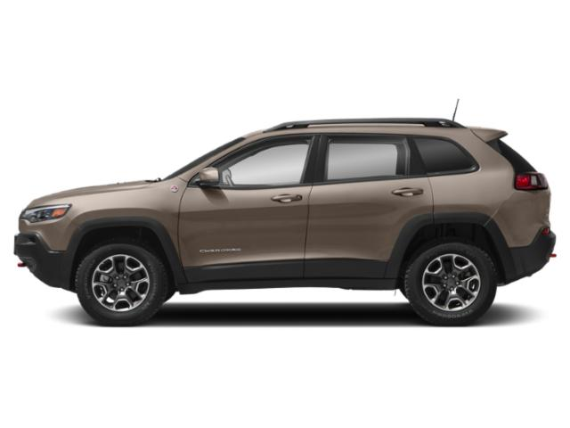 Light Brownstone Pearlcoat 2019 Jeep Cherokee Pictures Cherokee Trailhawk Elite 4x4 photos side view