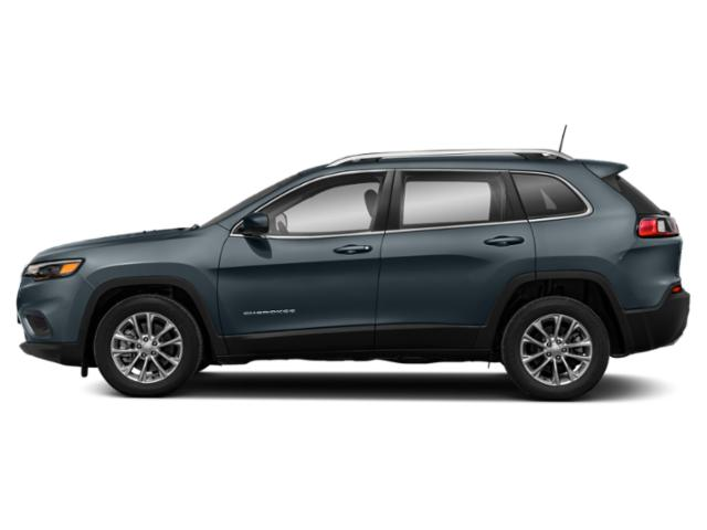 Blue Shade Pearlcoat 2019 Jeep Cherokee Pictures Cherokee Latitude FWD photos side view