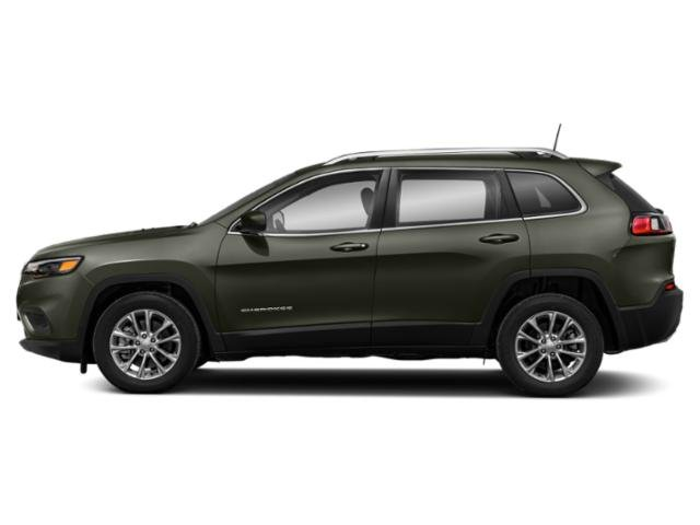 Olive Green Pearlcoat 2019 Jeep Cherokee Pictures Cherokee Altitude 4x4 photos side view