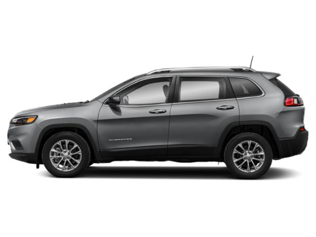 Billet Silver Metallic Clearcoat 2019 Jeep Cherokee Pictures Cherokee Altitude 4x4 photos side view