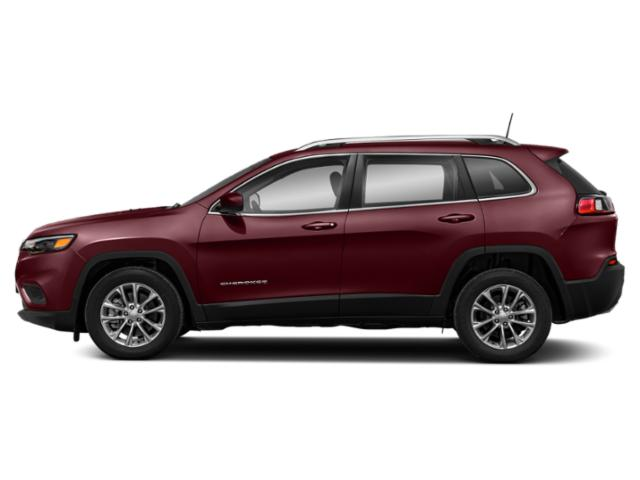 Velvet Red Pearlcoat 2019 Jeep Cherokee Pictures Cherokee Altitude 4x4 photos side view