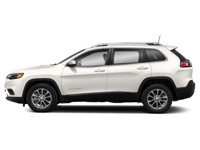 Pearl White Pearlcoat 2019 Jeep Cherokee Pictures Cherokee Altitude 4x4 photos side view
