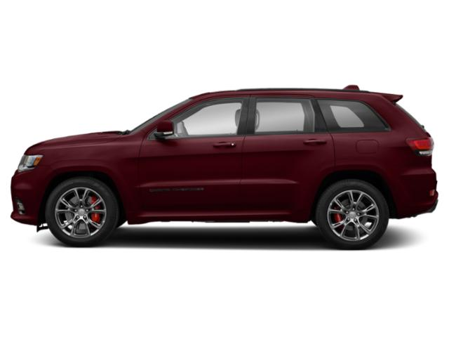 Velvet Red Pearlcoat 2019 Jeep Grand Cherokee Pictures Grand Cherokee SRT 4x4 photos side view