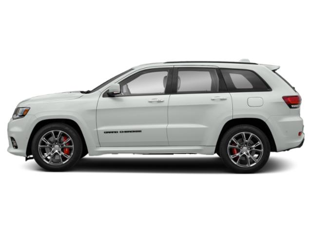 Bright White Clearcoat 2019 Jeep Grand Cherokee Pictures Grand Cherokee SRT 4x4 photos side view
