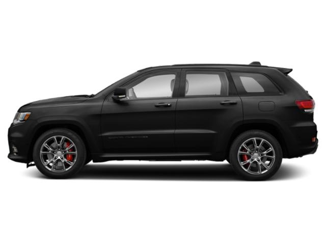 Diamond Black Crystal Pearlcoat 2019 Jeep Grand Cherokee Pictures Grand Cherokee SRT 4x4 photos side view