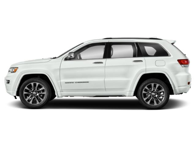 Bright White Clearcoat 2019 Jeep Grand Cherokee Pictures Grand Cherokee Overland 4x4 photos side view