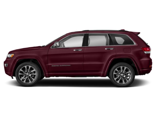 Velvet Red Pearlcoat 2019 Jeep Grand Cherokee Pictures Grand Cherokee Overland 4x4 photos side view