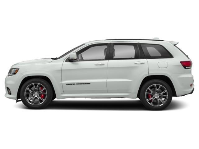 Bright White Clearcoat 2019 Jeep Grand Cherokee Pictures Grand Cherokee Trackhawk 4x4 photos side view