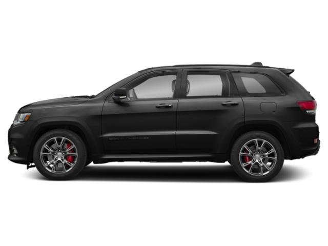 Diamond Black Crystal Pearlcoat 2019 Jeep Grand Cherokee Pictures Grand Cherokee Trackhawk 4x4 photos side view