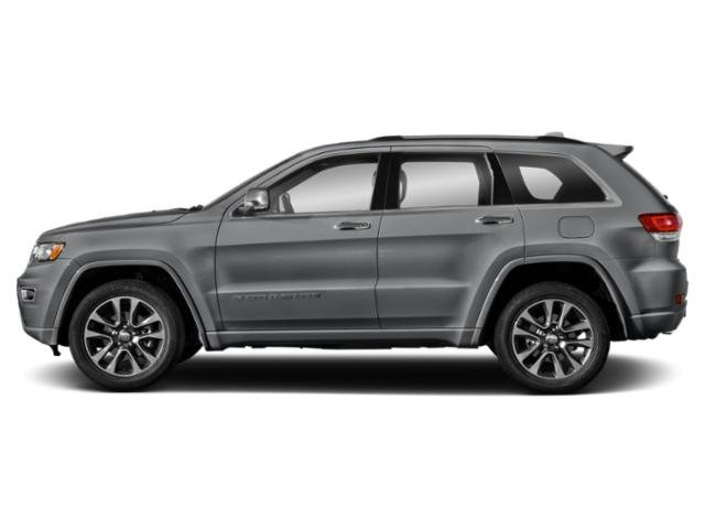 Billet Silver Metallic Clearcoat 2019 Jeep Grand Cherokee Pictures Grand Cherokee Overland 4x4 photos side view