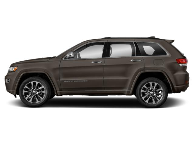 Walnut Brown Metallic Clearcoat 2019 Jeep Grand Cherokee Pictures Grand Cherokee Overland 4x4 photos side view