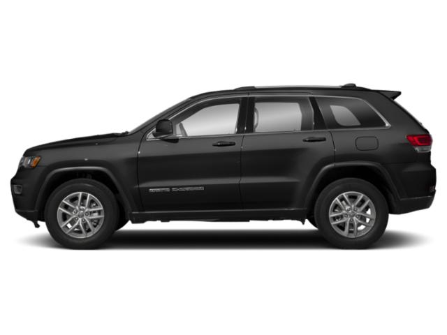 Diamond Black Crystal Pearlcoat 2019 Jeep Grand Cherokee Pictures Grand Cherokee Altitude 4x4 photos side view