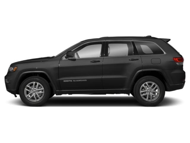 Diamond Black Crystal Pearlcoat 2019 Jeep Grand Cherokee Pictures Grand Cherokee Laredo E 4x4 photos side view