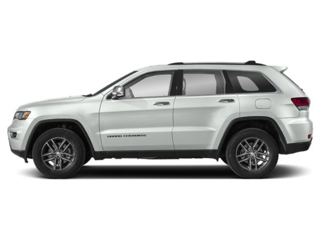 Bright White Clearcoat 2019 Jeep Grand Cherokee Pictures Grand Cherokee Limited 4x2 photos side view