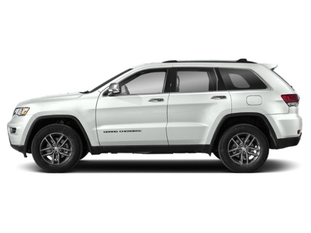 Bright White Clearcoat 2019 Jeep Grand Cherokee Pictures Grand Cherokee Limited X 4x2 photos side view