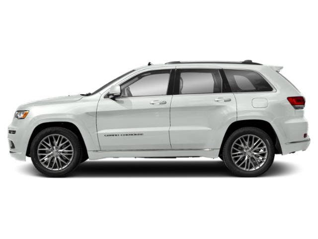 Bright White Clearcoat 2019 Jeep Grand Cherokee Pictures Grand Cherokee Summit 4x2 photos side view