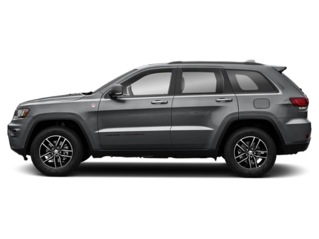 Billet Silver Metallic Clearcoat 2019 Jeep Grand Cherokee Pictures Grand Cherokee Trailhawk 4x4 photos side view