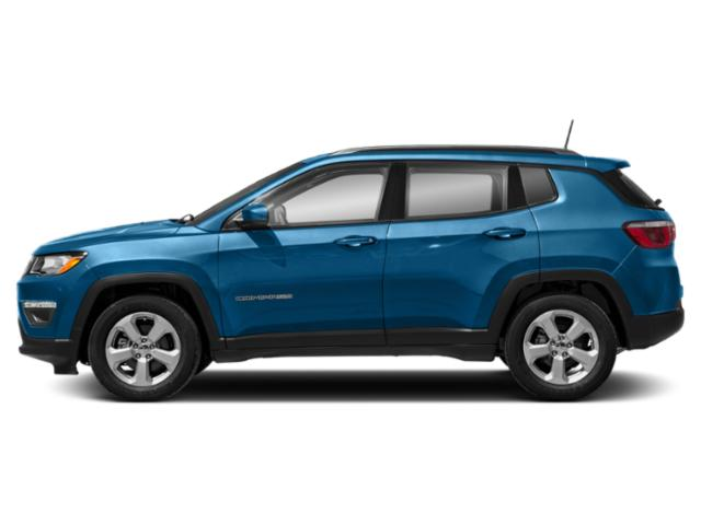 Laser Blue Pearlcoat 2019 Jeep Compass Pictures Compass Latitude FWD photos side view
