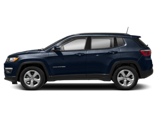 Jazz Blue Pearlcoat 2019 Jeep Compass Pictures Compass Latitude FWD photos side view