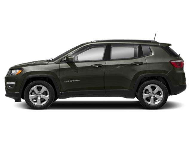 Olive Green Pearlcoat 2019 Jeep Compass Pictures Compass Sport 4x4 photos side view