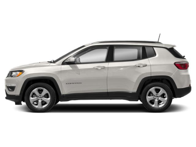 White Clearcoat 2019 Jeep Compass Pictures Compass Latitude FWD photos side view