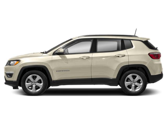 Pearl White Tri-Coat 2019 Jeep Compass Pictures Compass Limited 4x4 photos side view