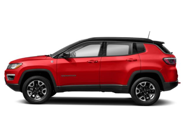 Spitfire Orange Clearcoat 2019 Jeep Compass Pictures Compass Trailhawk 4x4 photos side view