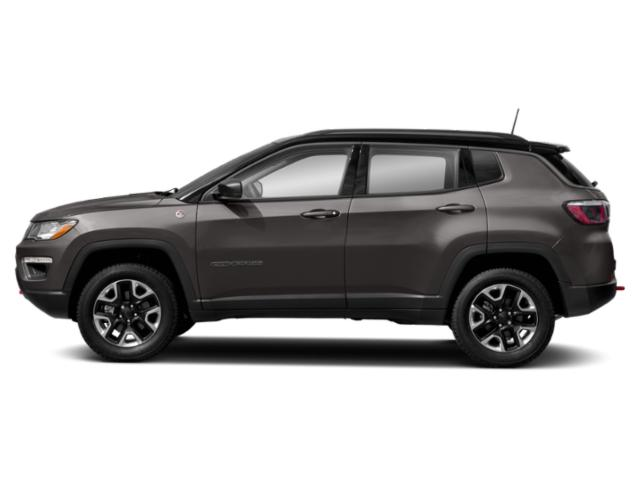 Granite Crystal Metallic Clearcoat 2019 Jeep Compass Pictures Compass Trailhawk 4x4 photos side view