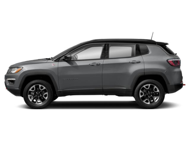 Billet Silver Metallic Clearcoat 2019 Jeep Compass Pictures Compass Trailhawk 4x4 photos side view