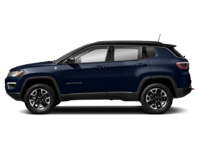 Jazz Blue Pearlcoat 2019 Jeep Compass Pictures Compass Trailhawk 4x4 photos side view