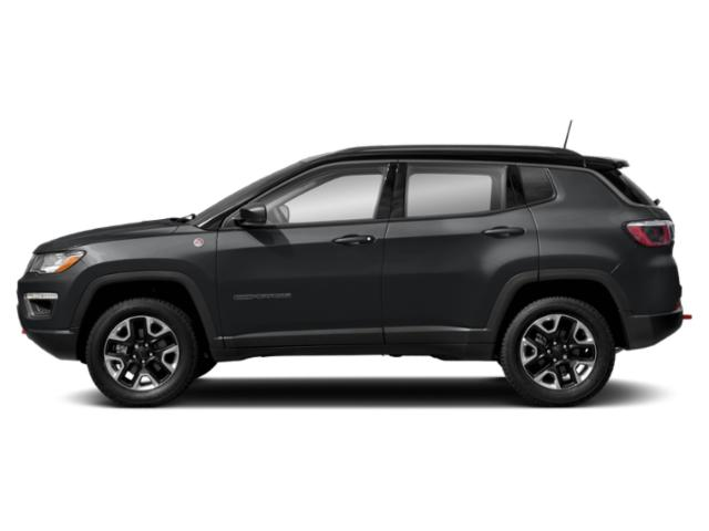 Sting-Gray Clearcoat 2019 Jeep Compass Pictures Compass Trailhawk 4x4 photos side view