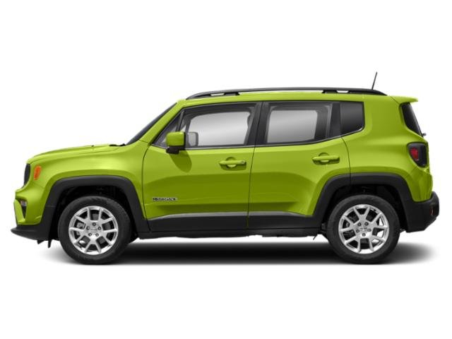 Hypergreen Clearcoat 2019 Jeep Renegade Pictures Renegade Limited 4x4 photos side view