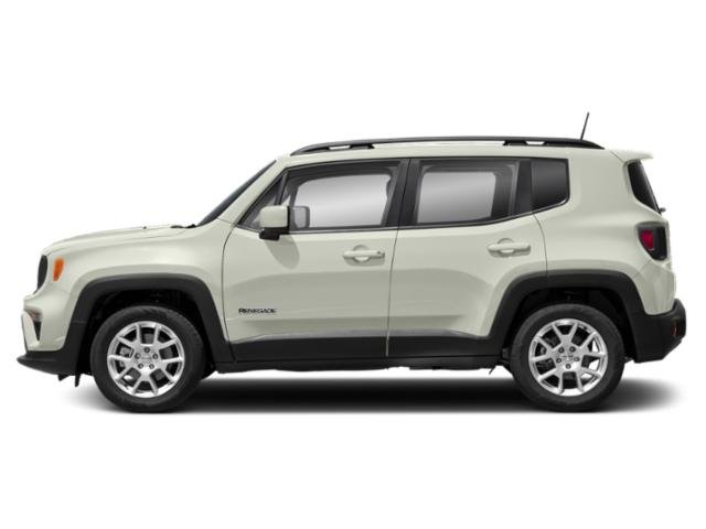 Alpine White Clearcoat 2019 Jeep Renegade Pictures Renegade Limited 4x4 photos side view
