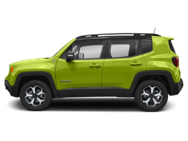 Hypergreen Clearcoat 2019 Jeep Renegade Pictures Renegade Trailhawk 4x4 photos side view