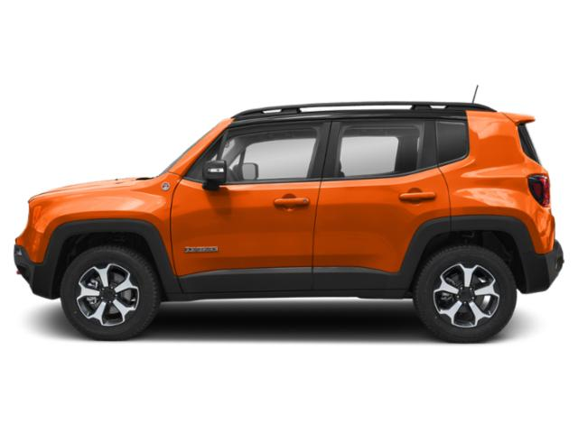 Omaha Orange Clearcoat 2019 Jeep Renegade Pictures Renegade Trailhawk 4x4 photos side view