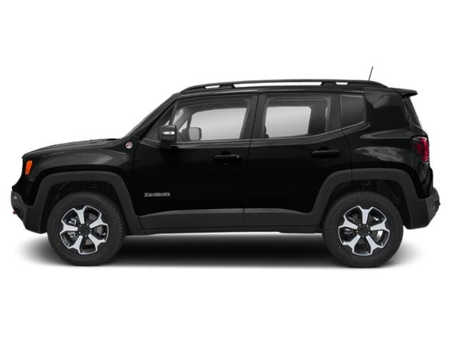 Black Clearcoat 2019 Jeep Renegade Pictures Renegade Trailhawk 4x4 photos side view
