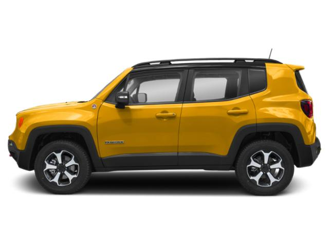 Solar Yellow Clearcoat 2019 Jeep Renegade Pictures Renegade Trailhawk 4x4 photos side view