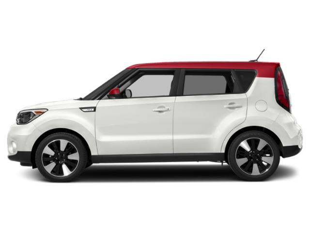 Clear White/Red Roof 2019 Kia Soul Pictures Soul + Auto photos side view