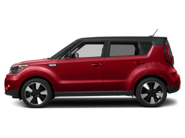 Inferno Red w/Black Roof 2019 Kia Soul Pictures Soul + Auto photos side view