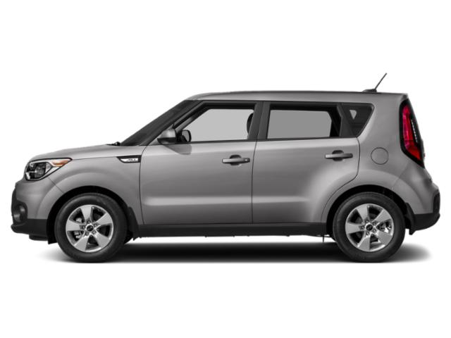 Bright Silver 2019 Kia Soul Pictures Soul + Auto photos side view