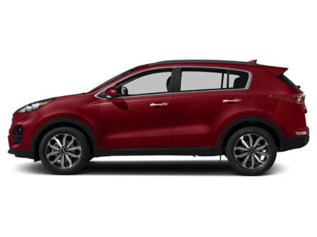 Hyper Red 2019 Kia Sportage Pictures Sportage EX FWD photos side view