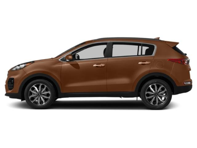 Burnished Copper 2019 Kia Sportage Pictures Sportage EX AWD photos side view