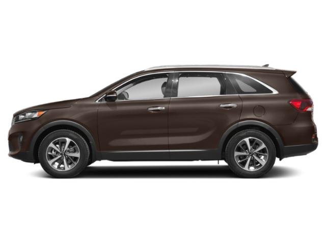 Dragon Brown 2019 Kia Sorento Pictures Sorento SX Limited V6 FWD photos side view