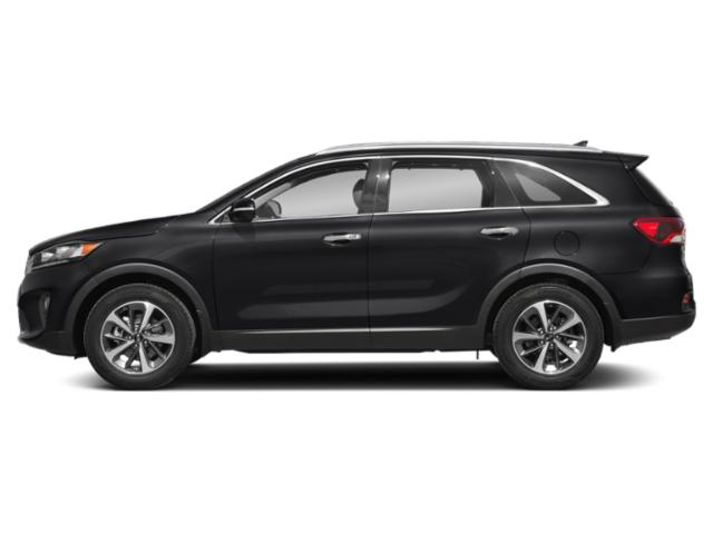 Ebony Black 2019 Kia Sorento Pictures Sorento SX Limited V6 FWD photos side view